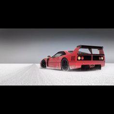 An 80's classic, a Ferrari F40