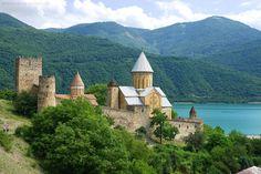 Georgien Reisen Reisetipps Urlaub Ananuri