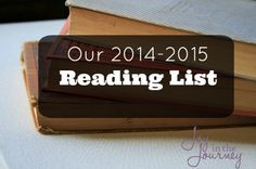 When I was preparing for the new school year, I ended up going through a book list together with my girls, and made what I feel is an awesome reading list!
