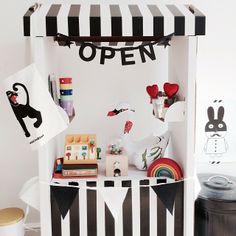 #minirodini To make up for the horrors of an Ikea Saturday they got a shop ❤️