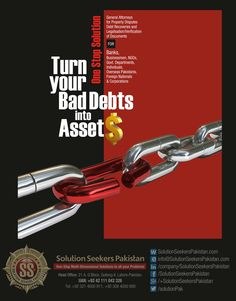 Turn Your Bad Debts in Assets .  General Attorneys for #Property #Disputes, Debt #Recoveries & Legalisation/Verification of Documents  for  #Banks #Businessmen, NGOs, Govt. Departments, Individuals, #Overseas Pakistanis, Foreign Nationals & Corporations.    #UK #USA #Dubai #MyDubai #UAE #england #London #Pakistan
