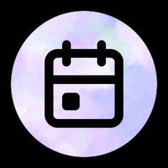 Ikon Wallpaper, Wallpaper App, Apps, App Store Icon, Calendar App, Cute App, Iphone App Design, Purple Wallpaper Iphone, Camera Icon