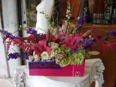 tela + flores