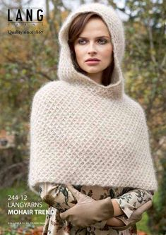 a knit and crochet community Poncho Patterns, Switzerland, Ravelry, Turtle Neck, Store, Sweaters, Design, Fashion, Moda