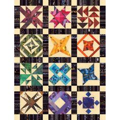 "Crazy Traditions Quilt Pattern 48"" x 63"" Downloadable PDF File or Printed Copy"