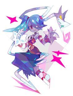 Pin by dark mags on skullgirls Anime Kunst, Anime Art, Funky Art, True Art, Manga Pictures, Video Game Art, Character Design Inspiration, Hatsune Miku, Indie Games