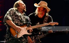 Stephen Stills, left and Neil Young, right, perform, Saturday, April 20, 2002 at the Baltimore Arena in Baltimore, Md. Crosby, Stills, Nash & Young are on the last leg of their concert 'Tour of America'.