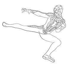 50 Wonderful Spiderman Coloring Pages Your Toddler Will Love Spiderman Coloring Superhero Coloring Pages Spiderman
