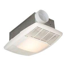 70 Cfm White Heater Ventilation Fan Lighted Fans 150