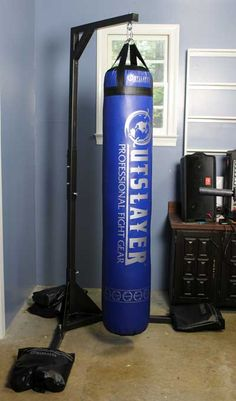Free Standing Punching Bag Stand Can Be Built Or A Bought