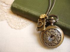 Wish I got a hold of a ohhellotherefriend! pocket watch when I was still in Irvine.