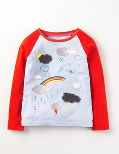 Up and Away T-shirt - Cloud Blue Marl Weather