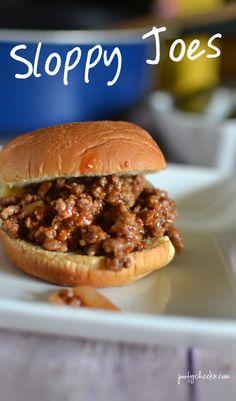 Homemade Sloppy Joes Recipe - 15 minute dinner great for weeknights!