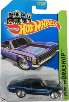is part of the HW Workshop series and the 2014 Super Treasure Hunt set. Chevy Ss, Chevrolet Ss, Chevy Camaro, Matchbox Autos, Matchbox Cars, Hot Wheels Treasure Hunt, Super Treasure Hunt, Custom Hot Wheels, Hot Wheels Cars
