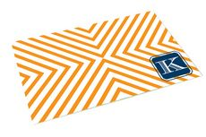 chevron business card pattern