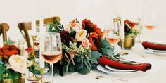 Are you getting married? Do you need some inspiration? How about a Burgundy Red Wedding? I have lots of wedding ideas for you here from table centerpiece, to flowers, to wedding invite!