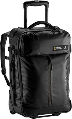 Tough enough for tossing, dropping and unexpected storms, the Eagle Creek Borderless Convertible carry-on takes on rough travel with heavy-duty, PVC-free material, lockable zippers and treaded tires. Carry On Suitcase, Carry On Luggage, Rolling Bag, Carry On Size, Backpack With Wheels, Eagle Creek, Convertible Backpack, Backpack Straps, Best Bags