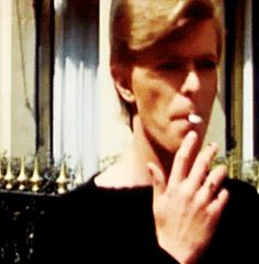 Bowie // Rare footage of David Bowie in Berlin.