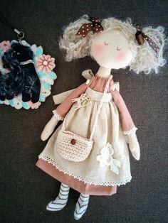 Doll Crafts, Baby Crafts, Diy Doll, Fabric Dolls, Paper Dolls, Rag Doll Tutorial, Sewing Dolls, Waldorf Dolls, Soft Dolls