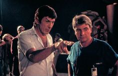 Leonard Nimoy directs Star Trek III: The Search For Spock (1984)