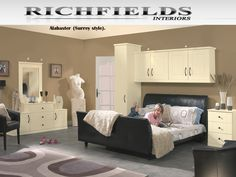 Alabaster (Surrey Style) Fitted Bedroom  View our entire Bedroom Range Gallery on our website: http://www.richfieldsinteriors.com/  Or call us today on 0121 354 6500