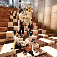 """PRADA,New York, """"And sometimes many small steps taken together can lead to transformative change..."""", pinned by Ton van der Veer"""