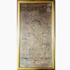 China Tibet Buddha Hand Painting Scroll Calendar Thangka Buddhism Amulet 18th c | eBay