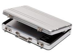ThinkGeek :: Mini Briefcase Business Card Case