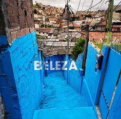 """BoaMistura - favela Brasilândia - intervenção """"Luz nas vielas"""". <3"""