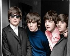 John Lennon, George Harrison, Paul McCartney, and Richard Starkey by pearlie