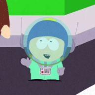 Craig's playing astronaut