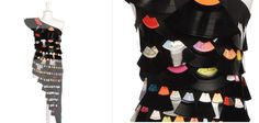 Oh snap!  That is awesome...Vinyl record dress