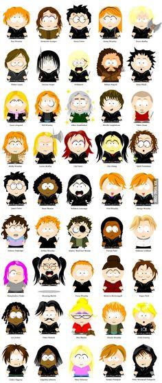 Harry Potter - South Park