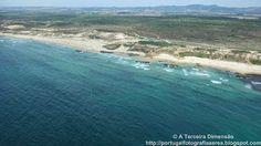 A Terceira Dimensão - Fotografia Aérea: Praia do Malhão