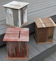 Country Wedding Card Box
