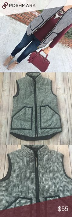 "Herrington vest Herrington vest never wear. Nwot. Material polyester. Armpit to armpit- 18.25"" length 22"" back length 23.5"". No trade Jackets & Coats Vests"