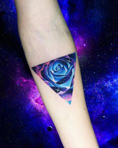 Cosmic rose by Adrian Bascur