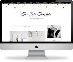 https://www.behance.net/gallery/20569143/The-Lola-Blogger-Template