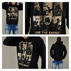 Join the dark side!!!! Ανδρικό μαύρο φούτερ Join the Empire. Διαθέσιμο σε: Μαύρο, Γκρι, Μπλε, Μπορντό.  #metaldeluxe #starwars #hoodies #mensclothes #menswear #mensfashion #newarrivals #shopping #onlineshopping #fashion #style