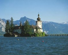 Gmunden - Schloss Ort; Austria