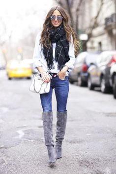 35 Over the Knee Boots and Ways To Wear Them IRL