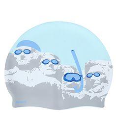 Sporti Swimming Presidents Silicone Swim Cap