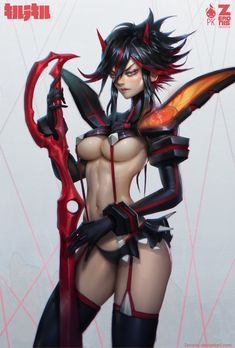 Kill La Kill Zeronis PK by Zeronis.deviantart.com on @deviantART