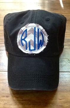 Ladies Monogrammed Hat