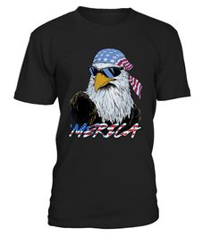 USA PRIDE MERICA MULLET EAGLE T-SHIRT  Funny Veterans Day T-shirt, Best Veterans Day T-shirt