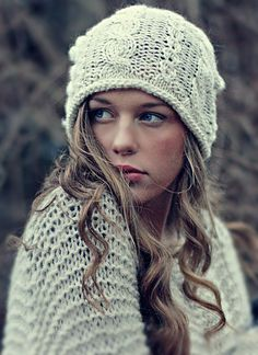 Slouchy Braided Beanie, free pattern by Katrine Hammer