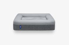 Casper dog mattress main gray