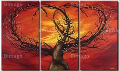 Baum der Liebe... // bei bimago.de für nur 80 € . Leinwand!
