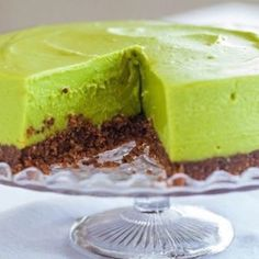 Matcha cheese cake with a maple soaked biscuit base nom nom nom www.zengreentea.com #matcha #superfood