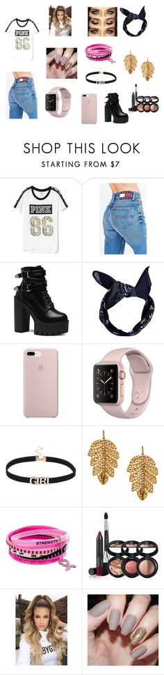 """Pink Babe"" by fashion-babygirl-101 on Polyvore featuring Victoria's Secret, Tommy Hilfiger, Boohoo, Marika, Laura Geller, Pink and Victoriasecret"